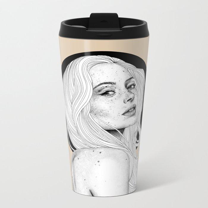Freckles Metal Travel Mug