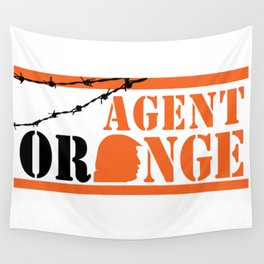 Agent Orange Wall Tapestry