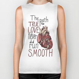 Path to true love Biker Tank