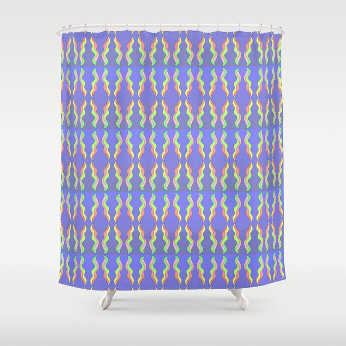 ribbon 26-ornamental,fabrics,fashion,decorative,girly,gentle Shower Curtain