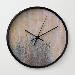 Earthtones Waterfall Wall Clock