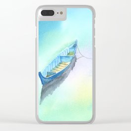Lake Illusion Clear iPhone Case