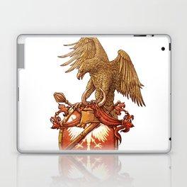 eagle on shield Laptop & iPad Skin