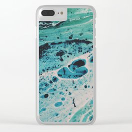 Seafoam Clear iPhone Case