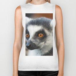 Ring tailed Lemur (Lemur catta) close up portrait Biker Tank