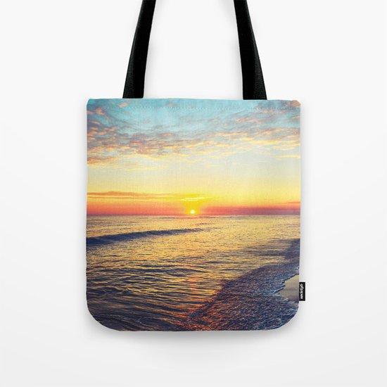 Summer Sunset Ocean Beach - Nature Photography by staypositivedesign