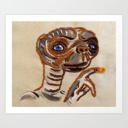 E.T. Art Print