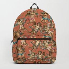 Stucco Cherubs in Terracotta Apricot Backpack