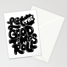 let the good times roll Stationery Cards