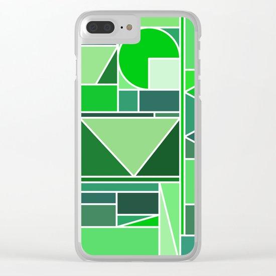 Kaku Green Clear iPhone Case