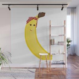 Banana in Bandana Wall Mural
