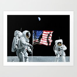 Tranquility Base Art Print