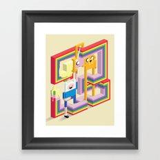 Mathematical! Framed Art Print
