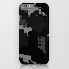 Black and Gray Abstract Slim Case iPhone 6s