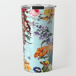 Floral and Birds XXXIV Travel Mug
