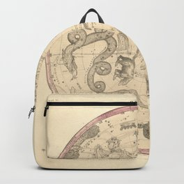 The Northern Constellations for Each Month of the Year (1856) Backpack