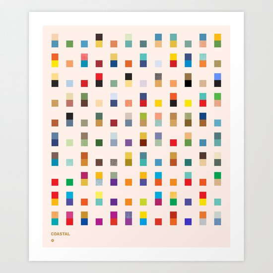 COASTAL 2 — Matthew Korbel-Bowers Art Print