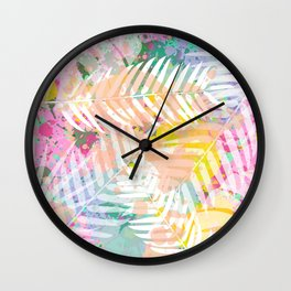 Tropical Juice 2 Wall Clock