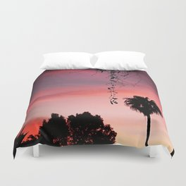 Pink Morning Duvet Cover
