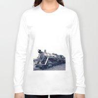 train Long Sleeve T-shirts featuring Train by Jaramillo Velez