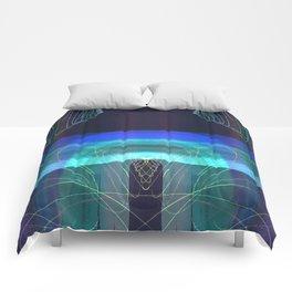 Symmetrical Nest 11 I - I Comforters