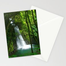Waterfall in the Azores Stationery Cards