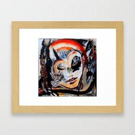 Verano - Vegan series - Original painting - Marina Taliera Framed Art Print