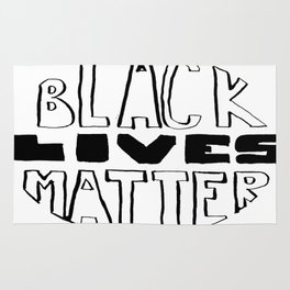 Black Lives Matter Rug