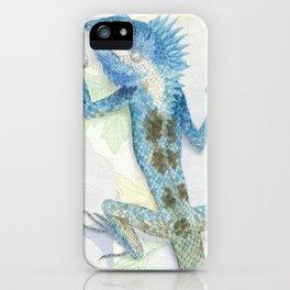 Living Interiors serie - Iguana iPhone Case
