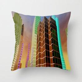 city feeling -100- Throw Pillow