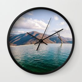 Lake in the Sky Wall Clock