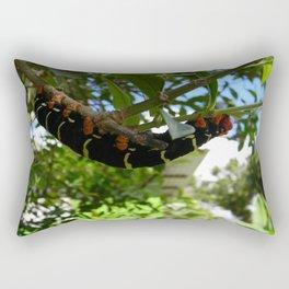 Caribbean Caterpillar 2 Rectangular Pillow
