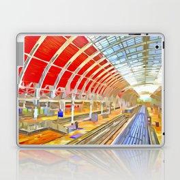 Paddington Railway Station Pop Art Laptop & iPad Skin