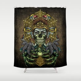 Winya No.4 Shower Curtain