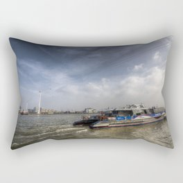 Thames Clipper  Rectangular Pillow