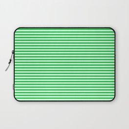 TINY STRIPE ((true green)) Laptop Sleeve