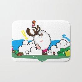 Alo-Tof(Concept Illustration) Bath Mat