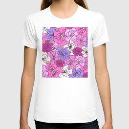 Summer Peony Garden T-shirt