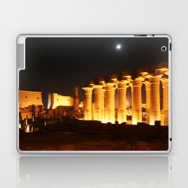 The night and the moon at Temple of Luxor, no. 29 Laptop & iPad Skin