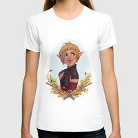 dragon age inquisition T-shirts featuring Dragon Age Inquisition: Sera by Elies Indigne