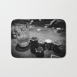 Poker Time Bath Mat