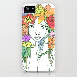 Beauty in Bloom - Lined iPhone Case