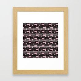 HEART</3BREAK pink sm Framed Art Print