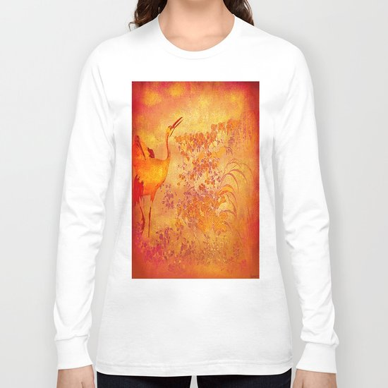 The storks of the forgotten paradise Long Sleeve T-shirt