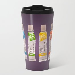 watercolor tubes Travel Mug