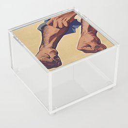 Wash Your Hands Acrylic Box