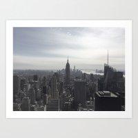 New York City, New York Art Print