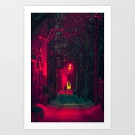 MTL Alleyway Art Print