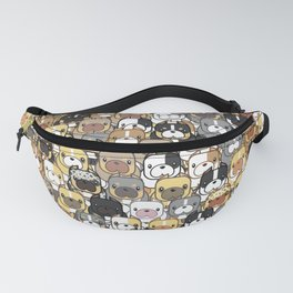 Exotic Bully Colors Fanny Pack