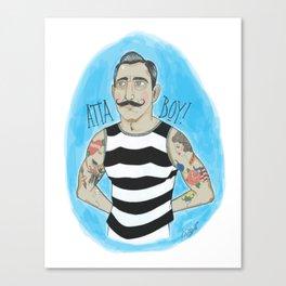 Atta Boy! Canvas Print